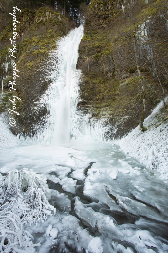 Horsetail Falls Ice