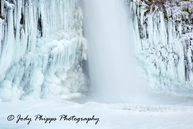 Horsetail Ice