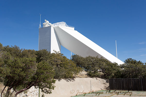 The McMath-Pierce Solar Telescope at the Kitt Peak National Observatory