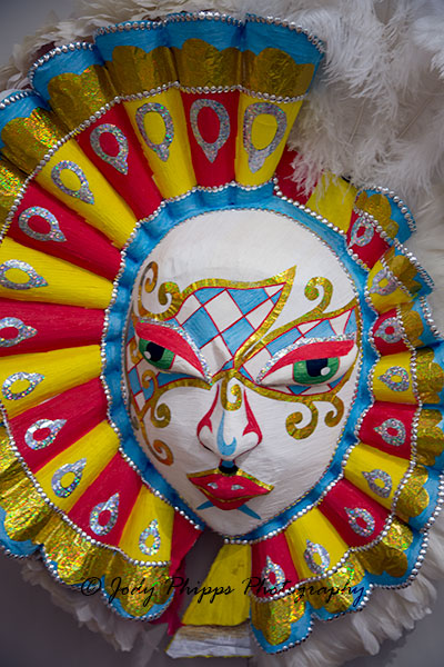 A mask from Junkanoo.