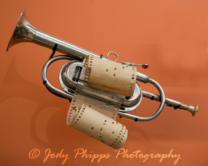 "A mechanical mouth organ from Germany (c. 1900)  Beginning in the 1870s, player trumpets similar to this one were sold in the United States as ""phonographic cornets"" and ""trumpettos""."